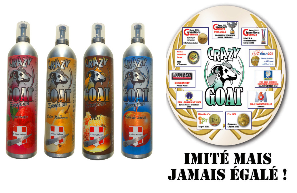 boisson la chevre crazy goat recompenses