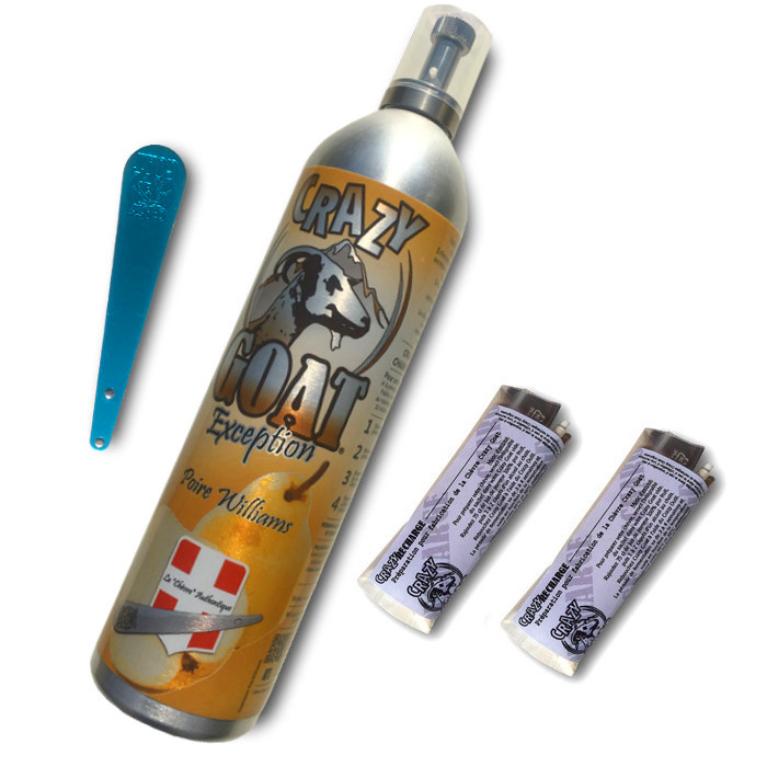 Crazy Goat - Kit plein poire williams 2 recharges