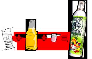 la chevre Crazy Goat : boisson fabrication mousse alcool