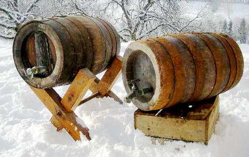 Boisson la chevre : tonneaux ancestrales