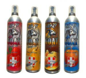 Crazy gaot la chevre alcool mousse Haute Savoie (France)